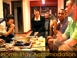Student home-stay accommodation in Hong Kong - example