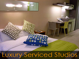 Q Language luxury serviced studio accommodation in Hong Kong - example 1