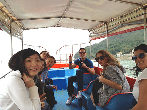 Study abroad in Hong Kong - Dolphin watching