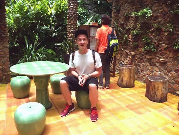 Q Language English student at Kadoorie Farm, Hong Kong