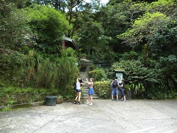 English courses field trip to Kadoorie Farm, Hong Kong