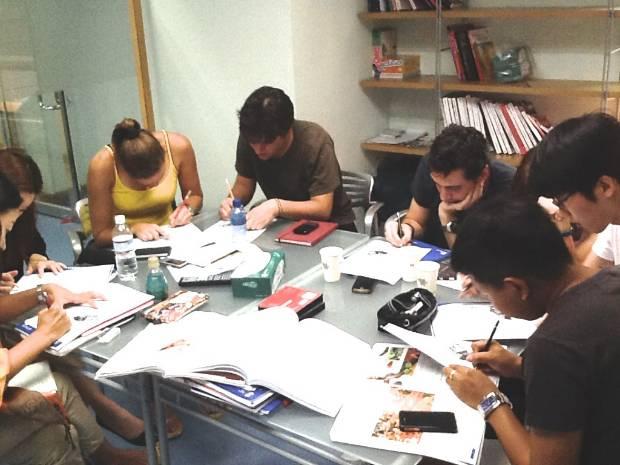 English course at q language.