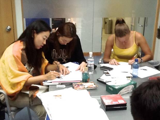 Qlanguage English lesson