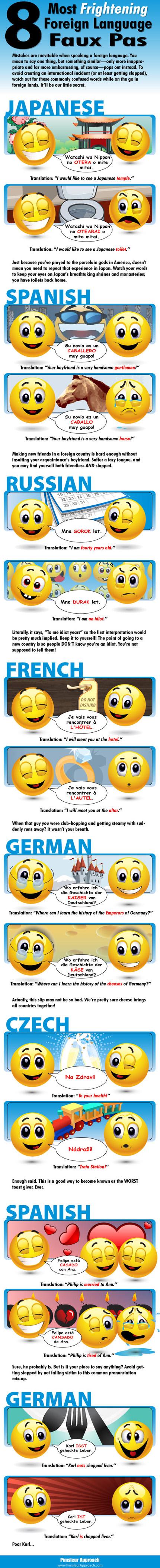 Foreign Language Faux Pas