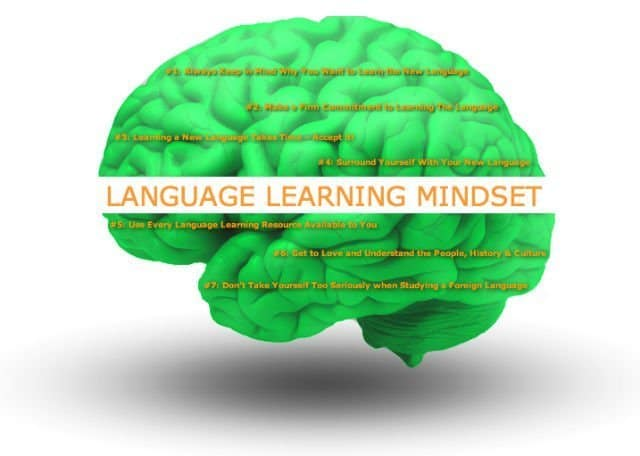 language learning mindset
