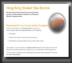 Hong Kong student visa