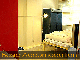 basic studio accommodation hong kong