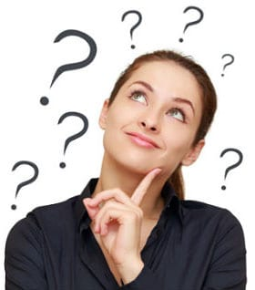 Girl wondering about Q Language General English courses
