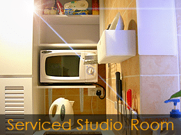 Q Language serviced studio accommodation in Hong Kong - example