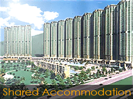 Student shared accommodation in Hong Kong - example