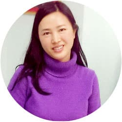 Julia W from China studying intensive English