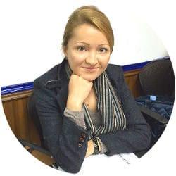 Masha from Russia studying English at Q Language