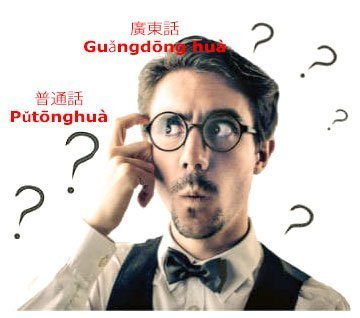 Man wondering whether to study Mandarin or Cantonese